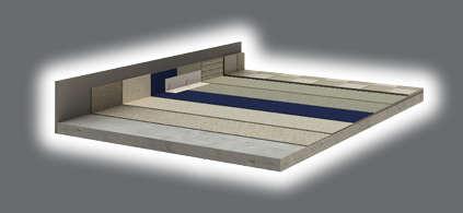 Sauna aufbau