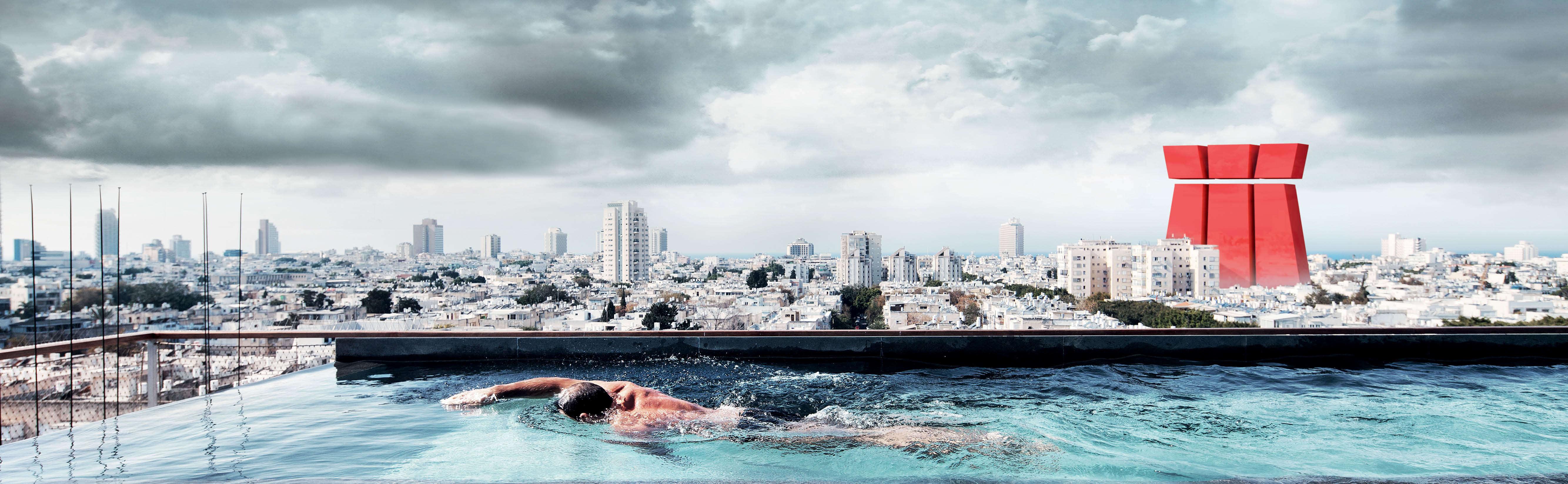Slide fne schwimmer