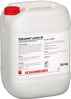 Aquafin latex m web